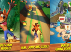 Zeitherausforderungen in Crash Bandicoot: On the Run!